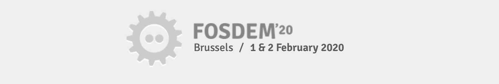diagrams.net is sponsoring the FOSDEM'20 conference for open source developers