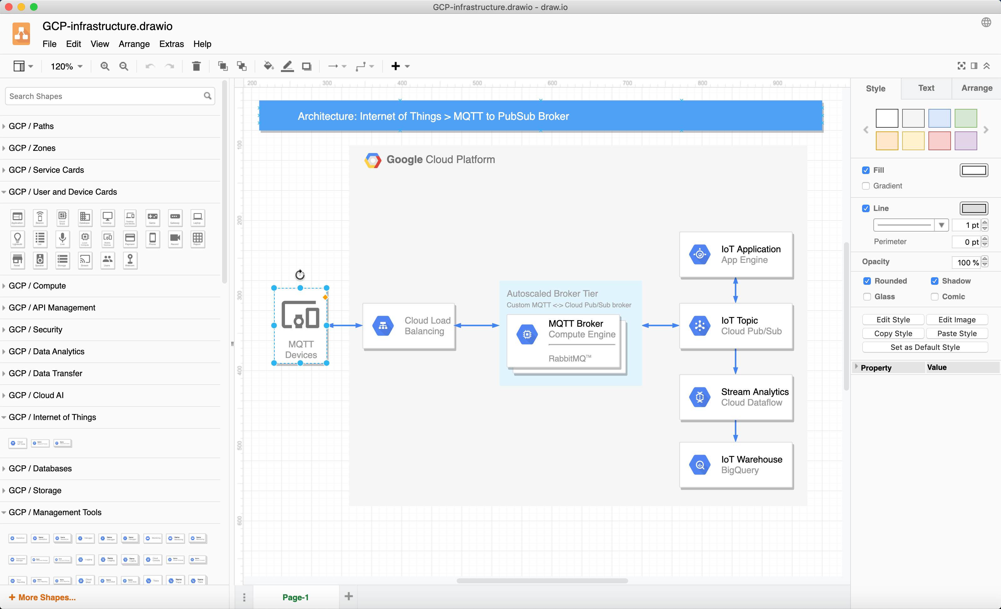 The diagrams.net desktop app works on MacOS, Windows and Linux