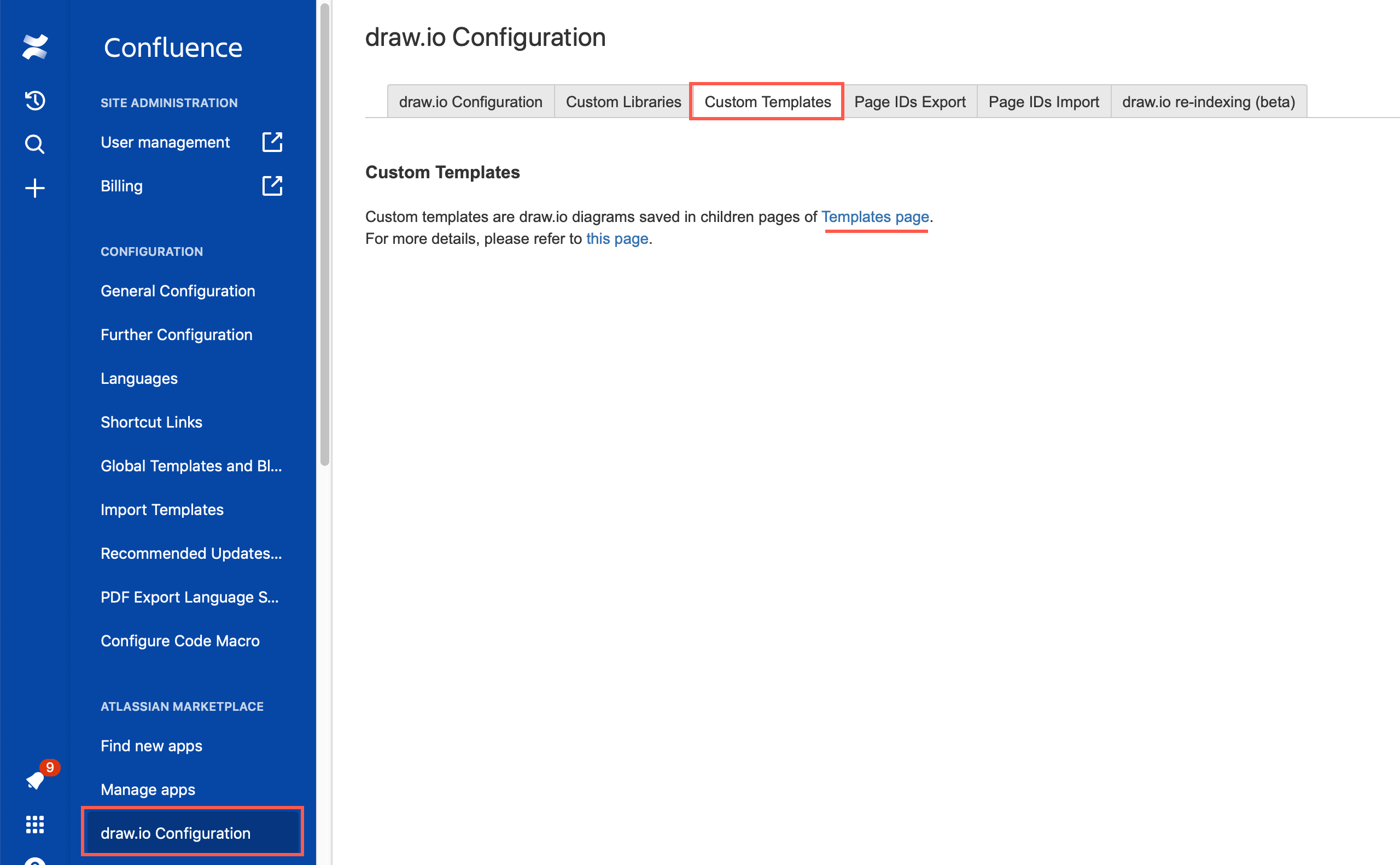 Set Up Custom Template Diagrams In Confluence Cloud