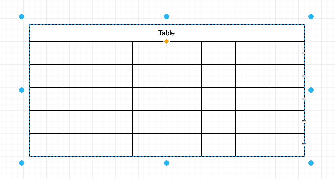 You can insert a table title easily by holding down shift and inserting a table as normal